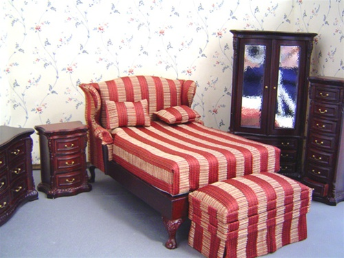 Park Avenue Bed Room Set | Bespaq Collectibles | In Miniature